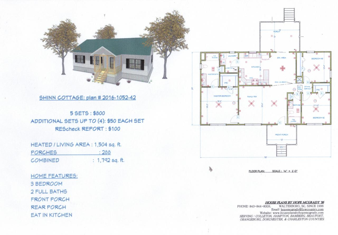 House plans by hope mcgrady house plans for sale for House plans for sale